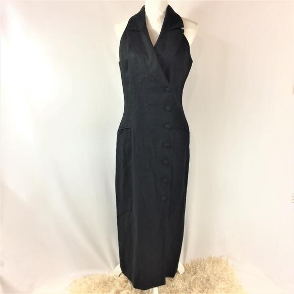 Wide Collar Cocktail Dress